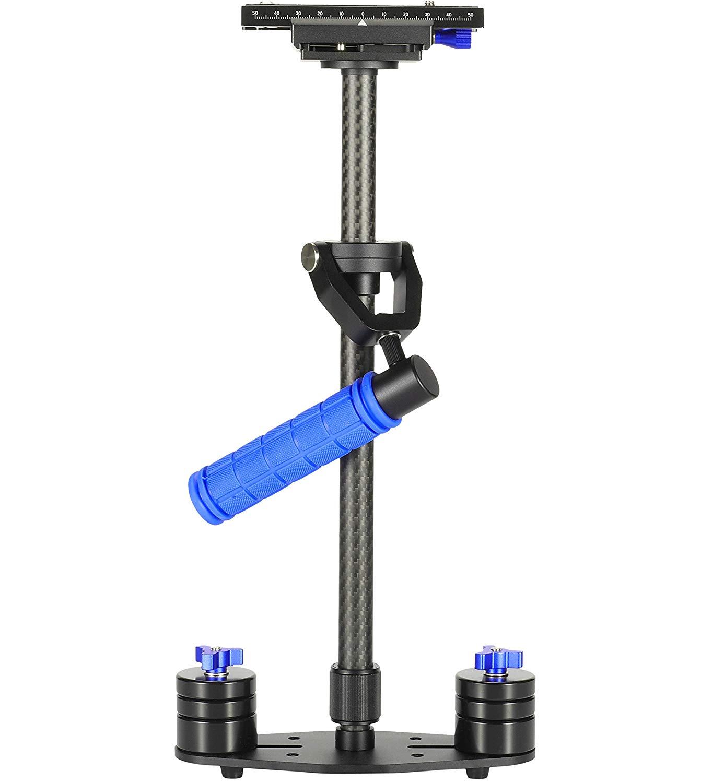 Morros S-60 - Soporte estabilizador para cámaras DSLR, color negro