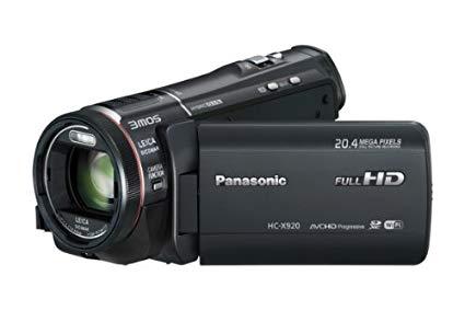 """Panasonic HC-X920EP-K - Videocámara (pantalla de 3.5"""", zoom óptico 12x con estabilizador de imagen), color negro"""
