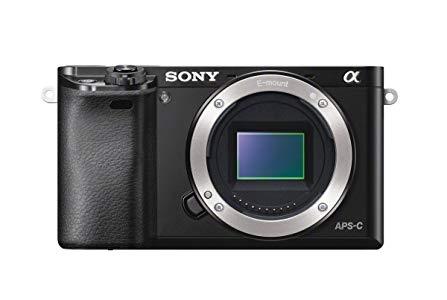 Sony A6000 - Cuerpo de cámara EVIL de 24 Mp (enfoque automático híbrido rápidovídeo Full HD, WiFi), negro