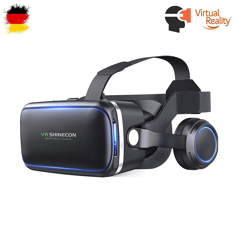 VR de 3d virtual Reality Gafas auricular, universal compatible con todos los smartphones en el tamaño 4 modelos hasta 6 pulgadas