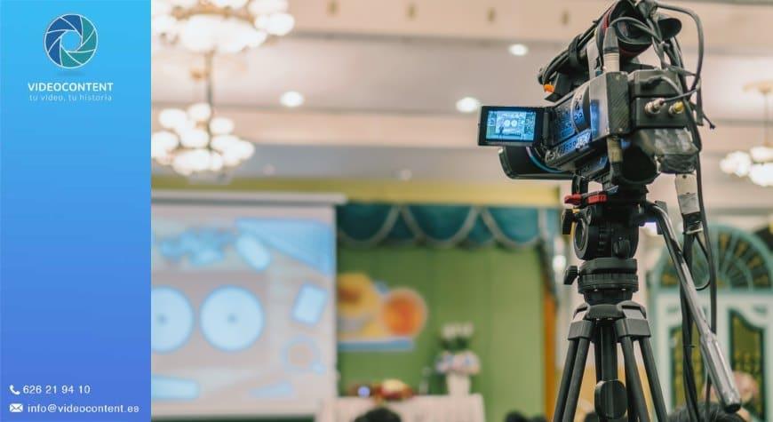 Vídeo grabación de eventos