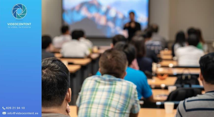 videos promocionales para escuelas | Llena las aulas de tu empresa de formación con vídeos promocionales para escuelas