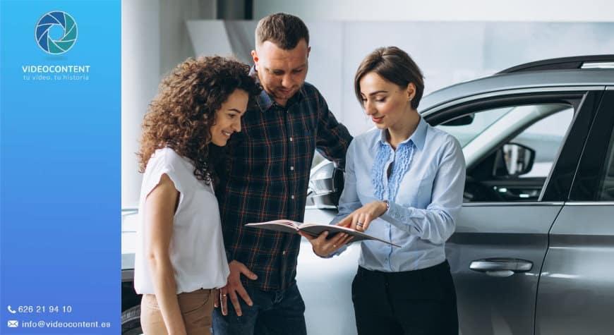 Aumentar ventas en tu concesionario con vídeos para vender coches