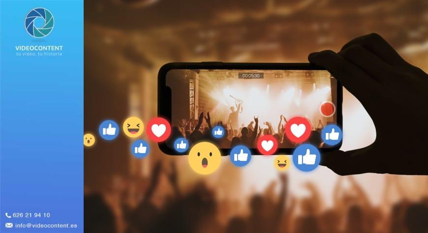 Vídeos promocionales para Facebook